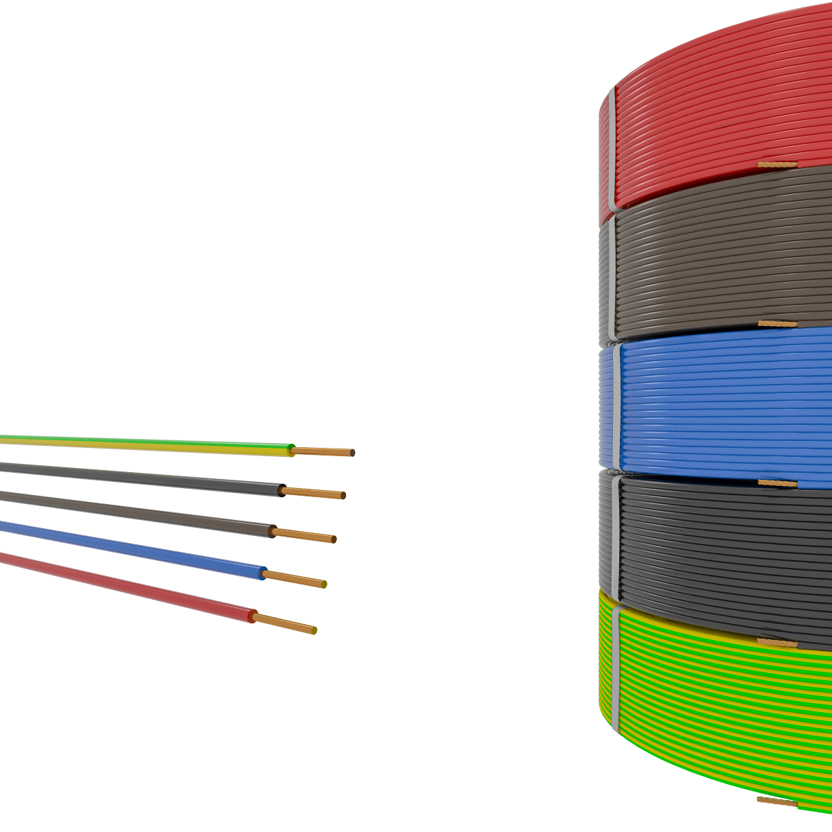 1,5 mm² Insulated Cables